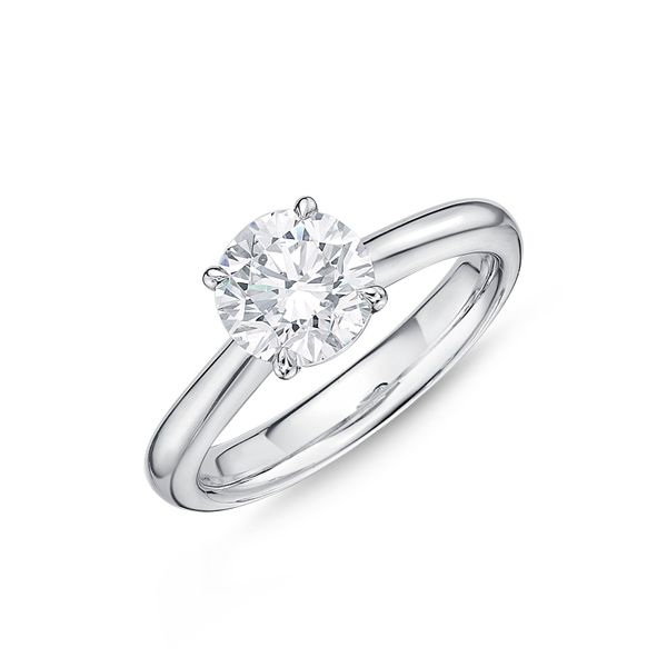 Memoire Solitaire Engagement Ring Padis Jewelry San Francisco, CA