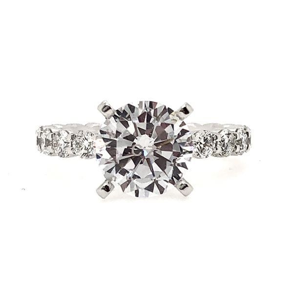 Memoire Diamond Engagement Ring Padis Jewelry San Francisco, CA