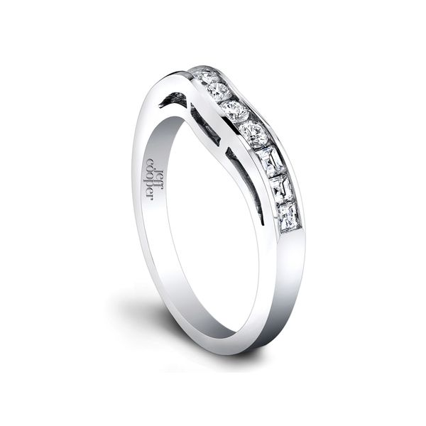 Contoured Woman's Wedding Band | Jeff Cooper San Francisco | Style No. 001-730-00608