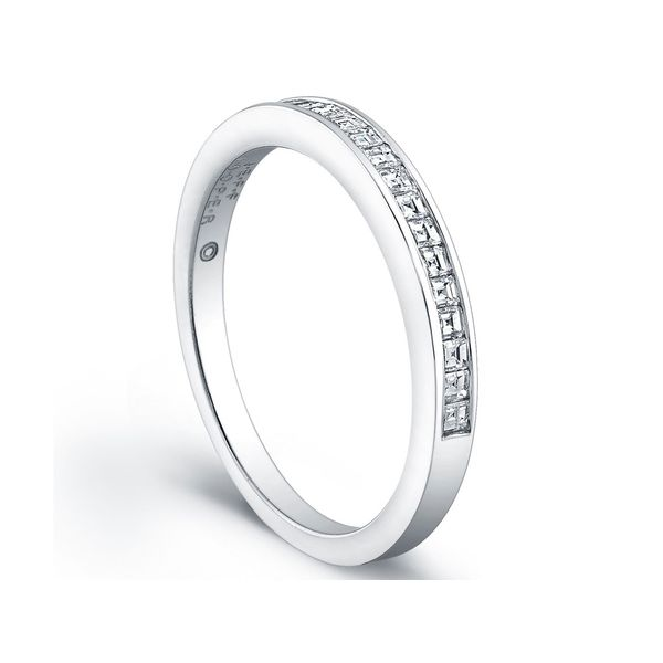 Platinum Channel Set Woman's Wedding Band | Style No. 001-730-00764
