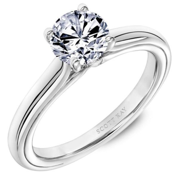 Scott Kay Solitaire Ring Padis Jewelry San Francisco, CA