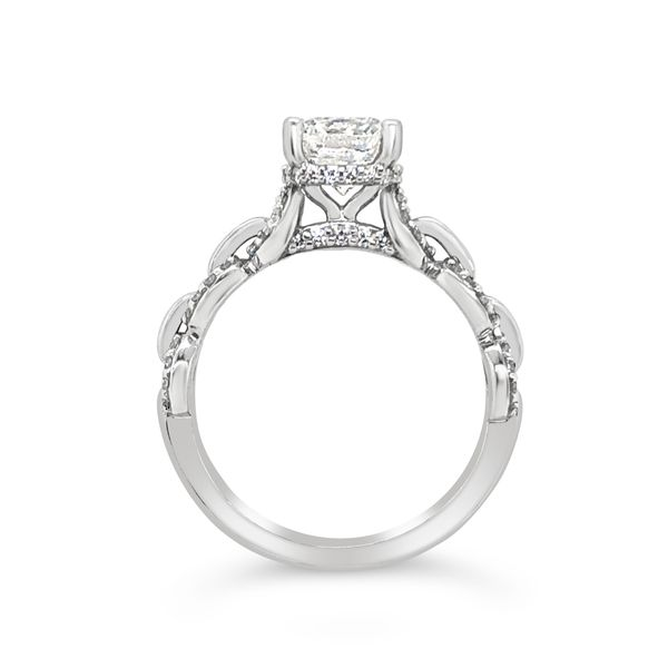 Scott Kay 14K White Gold Diamond Engagement Ring Image 2 Padis Jewelry San Francisco, CA