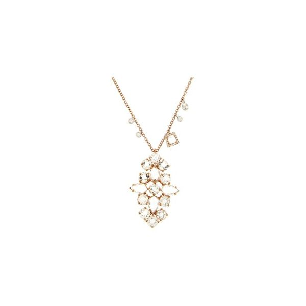 Meira T. Rose Gold and Diamond Necklace Padis Jewelry San Francisco, CA