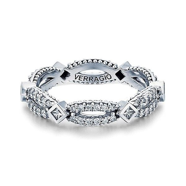 Verragio Parisian Wedding Band Padis Jewelry San Francisco, CA