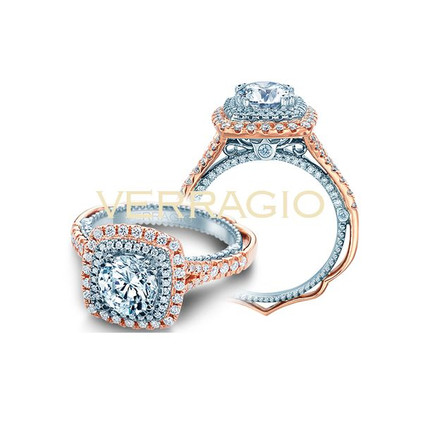 Verragio Venetian Engagement Ring Padis Jewelry San Francisco, CA