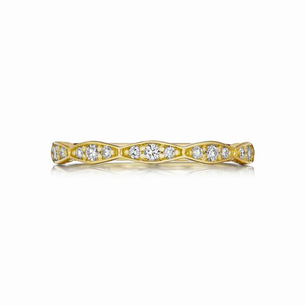 "Tacori ""Sculpted Crescent"" Diamond Ring Padis Jewelry San Francisco, CA"