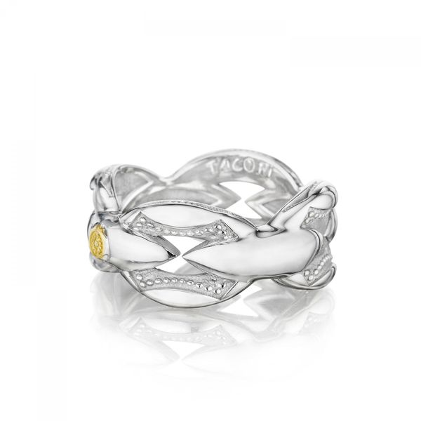 Tacori Ivy Lane Collection | Yellow Gold & Sterling Silver Stackable Ring | Style No. 001-761-00772 SR185