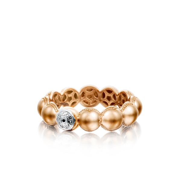 Tacori Sonoma Mist Collection | Rose Gold Beaded Dome Ring | Style No. 001-761-00829 SR192P
