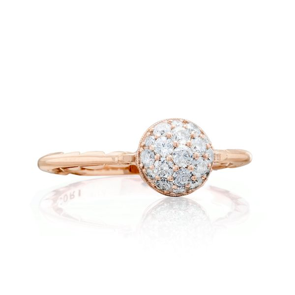 Tacori Sonoma Mist Collection | Gold Diamond Cluster Ring | Style No. 001-761-00840 SR189P