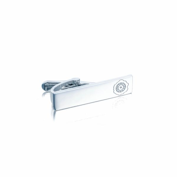 Tacori | Sterling Silver Tie Bar with Tacori Seal | Style No. 001-761-00881 MTB104