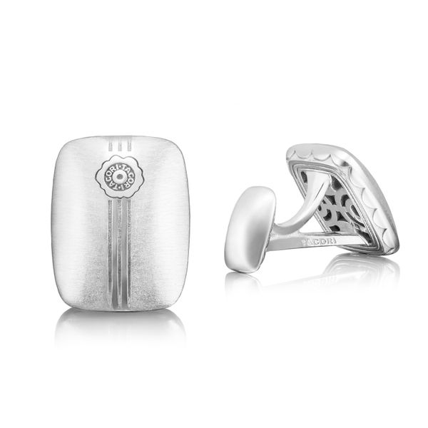 Tacori Retro Classic Collection | Cuff Links with Tacori Seal Stamp | Style No. 001-761-00902 MCL106