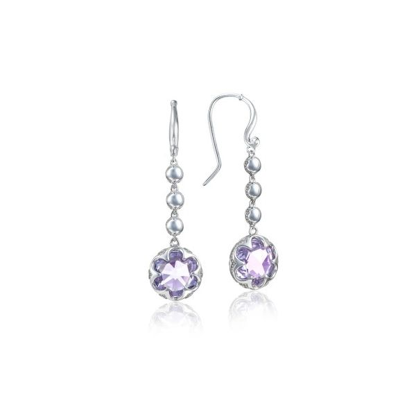 Tacori Sonoma Skies Collection | Sterling Silver Cascading Amethyst Drop Earrings | Style No. 001-761-01047 SE21301
