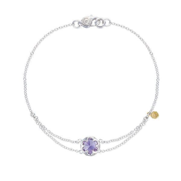 Tacori Sonoma Skies Collection | Split Chain Sterling Silver & Amethyst Bracelet | Style No. 001-761-01120 SB20001