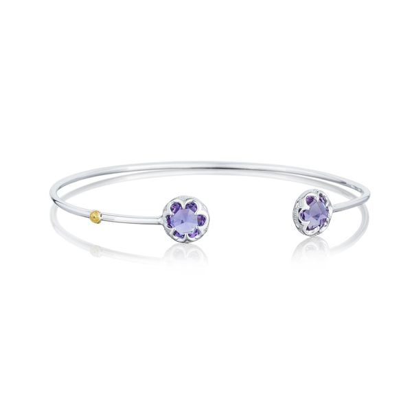 Tacori Sonoma Skies Collection | Sterling Silver Amethyst Bangle Bracelet | Style No. 001-761-01123 SB20101-M