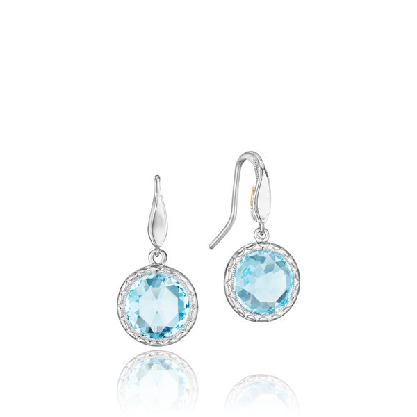 Tacori Blue Topaz Earrings Padis Jewelry San Francisco, CA