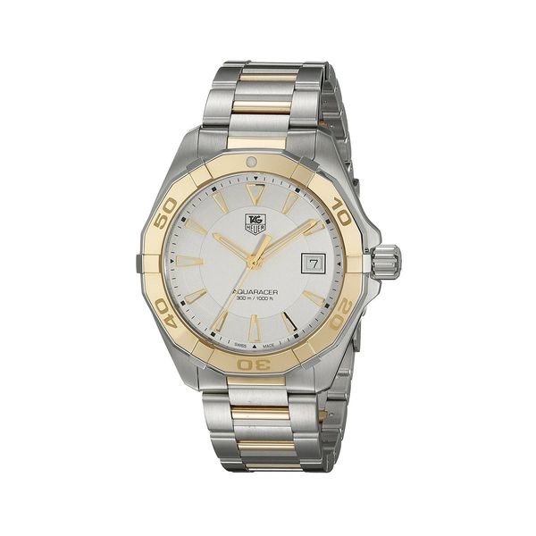 TAG Heuer Men's Aquaracer Two Tone Watch Padis Jewelry San Francisco, CA