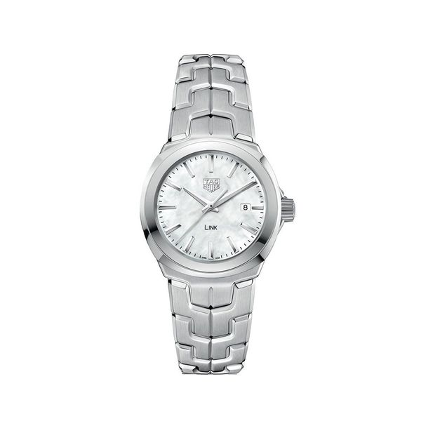 TAG Heuer Women's Link Lady Stainless Steel Watch Padis Jewelry San Francisco, CA