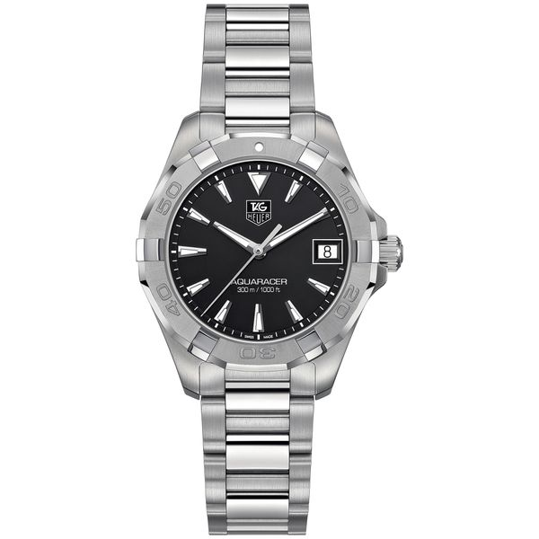 TAG Heuer Women's Aquaracer Stainless Steel Watch Image 2 Padis Jewelry San Francisco, CA