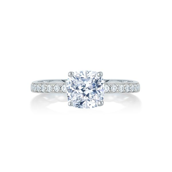 A. Jaffe Engagement Ring Padis Jewelry San Francisco, CA