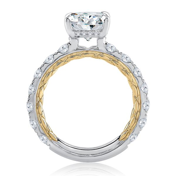 A. Jaffe Engagement Ring Image 2 Padis Jewelry San Francisco, CA