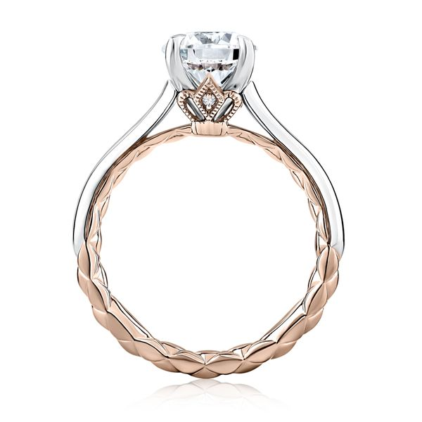 A. Jaffe Solitaire Engagement Ring Image 2 Padis Jewelry San Francisco, CA