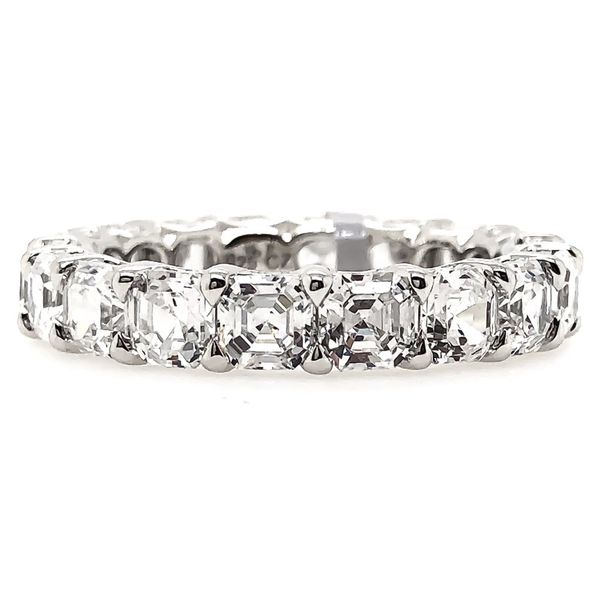 Asscher Eternity Band Padis Jewelry San Francisco, CA