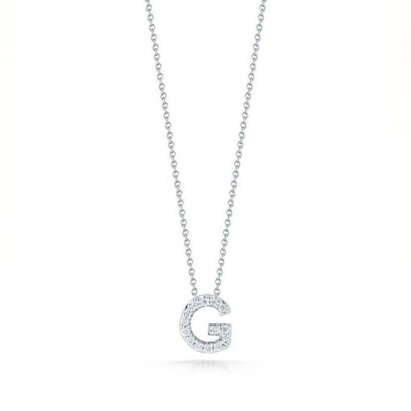 Roberto Coin Diamond Pendant Padis Jewelry San Francisco, CA