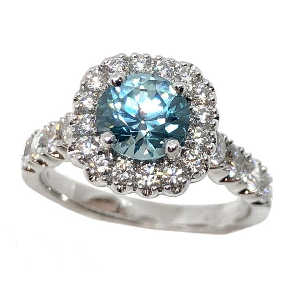 Carizza Bridal Colored Stone Ring Parkers' Karat Patch Asheville, NC