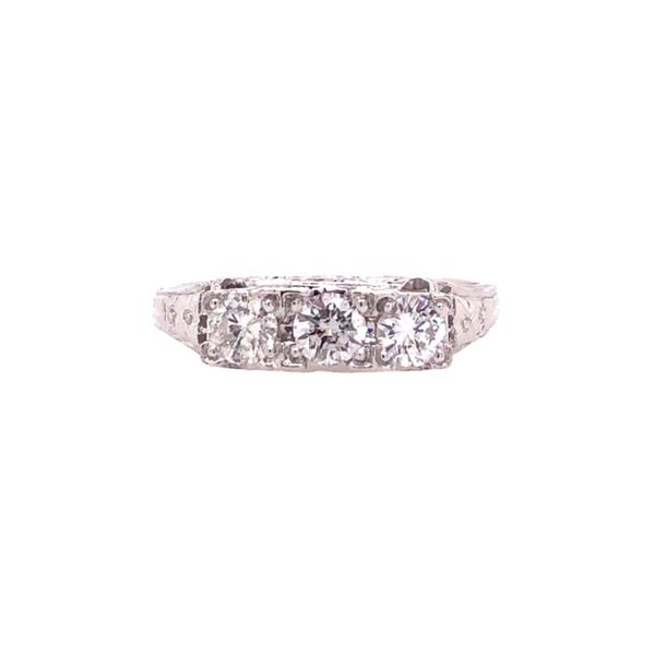 Estate Engagement Ring Paul Bensel Jewelers Yuma, AZ