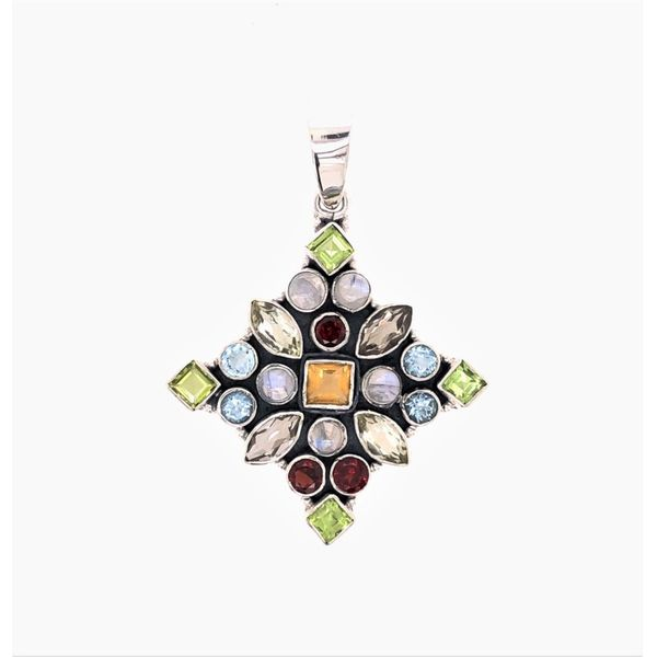 Estate Colored Stone Pendant Paul Bensel Jewelers Yuma, AZ