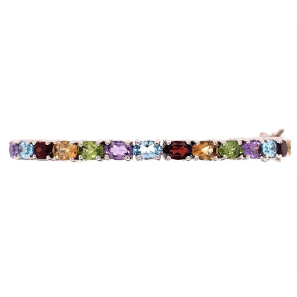 Estate Colored Stone Bracelet Paul Bensel Jewelers Yuma, AZ