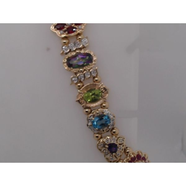 Gemstone Bracelet Perry's Emporium Wilmington, NC