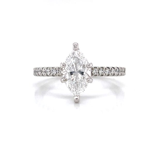 Marquise Diamond Engagement Ring Peter & Co. Jewelers Avon Lake, OH