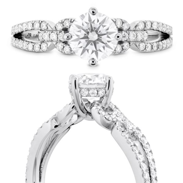 Brielle Hearts On Fire Diamond Intensive Peter & Co. Jewelers Avon Lake, OH