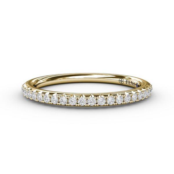 Fana Yellow Gold Diamond Band Peter & Co. Jewelers Avon Lake, OH
