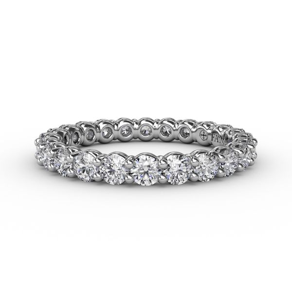 Fana Shared Prong Diamond Eternity Band Peter & Co. Jewelers Avon Lake, OH