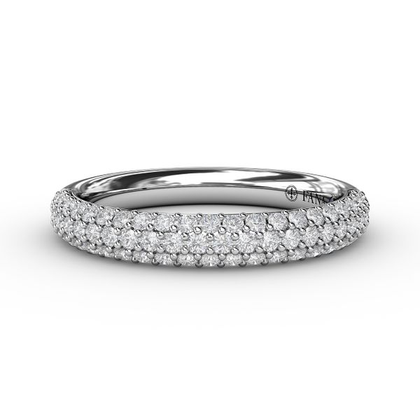 Fana Pave Set Diamond Wedding Band Peter & Co. Jewelers Avon Lake, OH