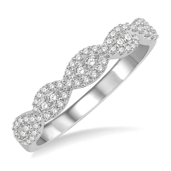 Twist Stackable Diamond Wedding Band Peter & Co. Jewelers Avon Lake, OH