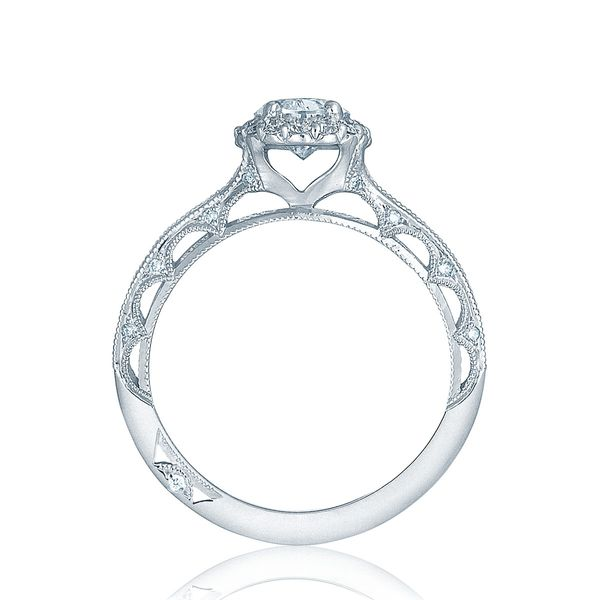 Reverse Crescent Tacori Engagement Ring Setting Image 2 Peter & Co. Jewelers Avon Lake, OH