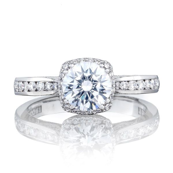 Dantela Tacori Engagement Ring Setting Peter & Co. Jewelers Avon Lake, OH