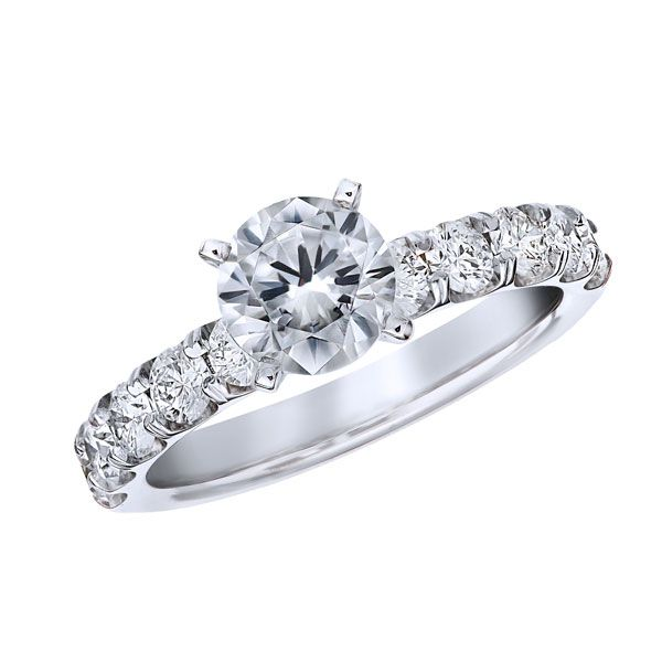 1/3ctw Signature Collection Engagement Ring Setting Peter & Co. Jewelers Avon Lake, OH