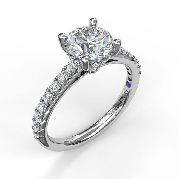 Fana Engagement Ring Setting Image 2 Peter & Co. Jewelers Avon Lake, OH