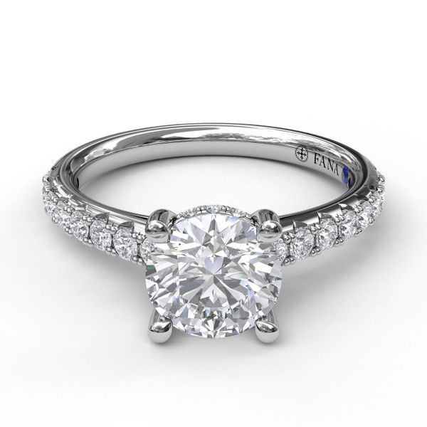 Fana Engagement Ring Setting Peter & Co. Jewelers Avon Lake, OH