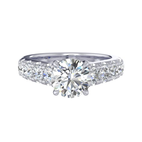 Fana Semi-Mount Engagement Ring Peter & Co. Jewelers Avon Lake, OH