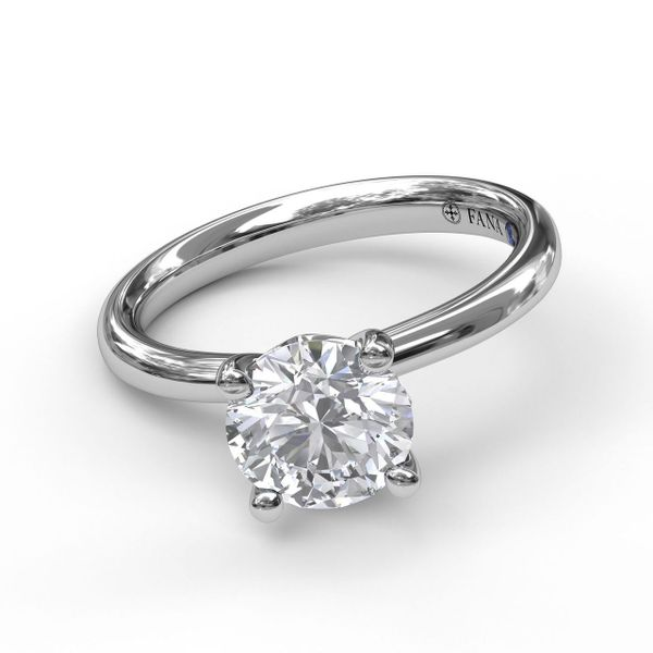 Fana Timeless Solitaire Engagement Ring Setting Peter & Co. Jewelers Avon Lake, OH