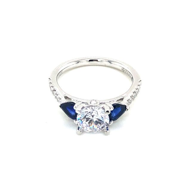 Fana Blue Sapphire Engagement Ring Setting Peter & Co. Jewelers Avon Lake, OH
