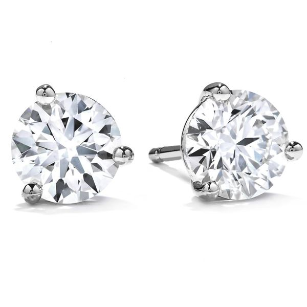 Hearts On Fire Diamond Stud Earrings 1.06ctw Peter & Co. Jewelers Avon Lake, OH