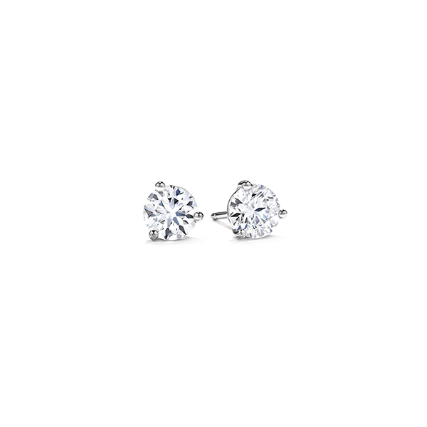 Hearts On Fire Diamond Stud Earrings 1/2ctw Peter & Co. Jewelers Avon Lake, OH