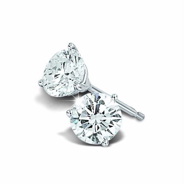 Diamond Stud Earrings 1ctw Peter & Co. Jewelers Avon Lake, OH