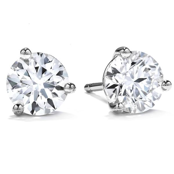 Hearts On Fire Diamond Stud Earrings 3/8ctw Peter & Co. Jewelers Avon Lake, OH